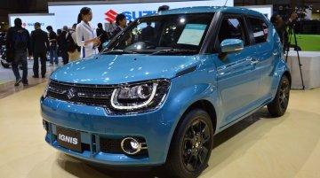 India-bound Suzuki Ignis - 2015 Tokyo Live