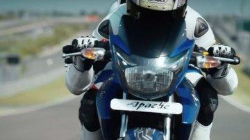 TVS Apache RTR Matte Blue Edition - Video