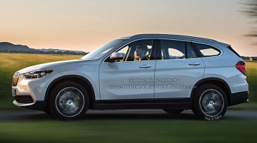 2016 BMW X1 PHEV with 7 seats - IAB Rendering