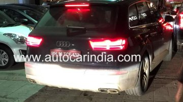 Audi SQ7 snapped testing in India yet again - Spied
