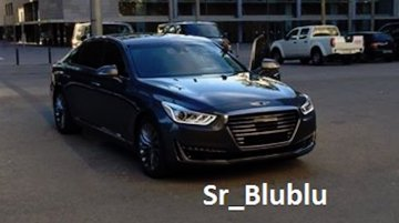 Genesis EQ900 (Genesis G90) spotted undisguised for the first time - Spied