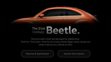 VW India teases Beetle, bookings open at INR 1 Lakh - IAB Report