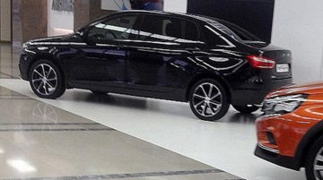 Long-wheelbase Lada Vesta spotted for the first time - Spied