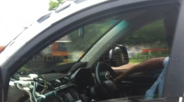 Mahindra S101 interior snapped by IAB reader - Spied