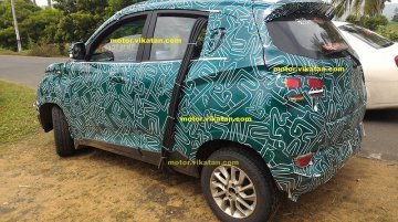 Mahindra S101 snapped with new camouflage and alloy wheels - Spied