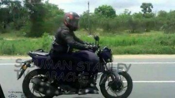 Next-gen TVS Apache snapped on Chennai highway - Video