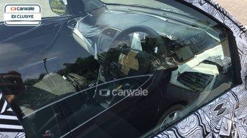 Tata Kite hatchback's dashboard snapped again - Spied