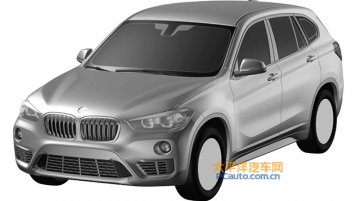 BMW X1 long-wheelbase version leaked in patent images - China