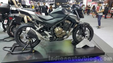 2016 Honda CBR500R, 2016 Honda CB500F, 2016 Honda CB500X shown at Thai Motor Expo - IAB Report