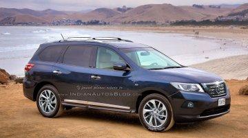 2016 Nissan Pathfinder (facelift) - IAB Rendering
