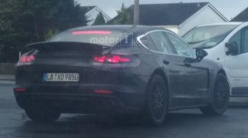 2016 Porsche Panamera caught with a sleeker rear-end - Spied