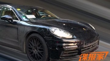 2016 Porsche Panamera snapped ahead of Geneva debut - Spied