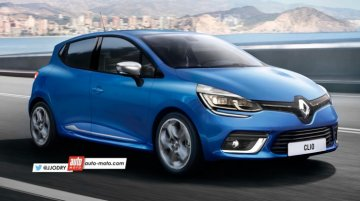 2016 Renault Clio (facelift) to debut at 2016 Geneva Motor Show - Rendering