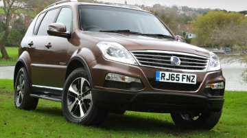 2016 Ssangyong Rexton with new 2.2L diesel engine, 7AT launched in UK – IAB Report