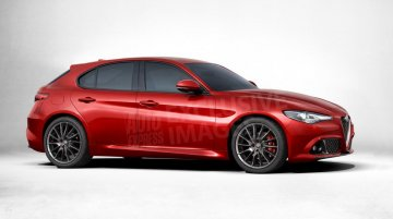 Second generation 2017 Alfa Romeo Giulietta detailed, rendered - Report