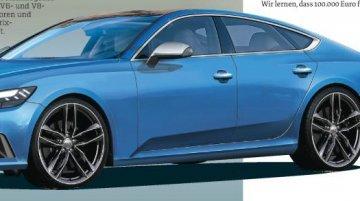Second-gen Audi A7 2017 - Rendering
