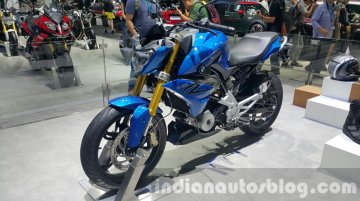 India-bound TVS-BMW G310R showcased at Thailand Motor Expo - In Images