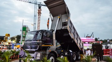 BharatBenz at EXCON 2015 - IAB Report