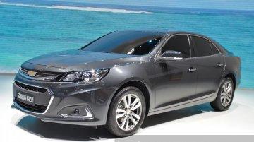China-spec 2015 Chevrolet Malibu - Motorshow Focus
