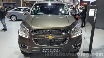 Chevrolet Trailblazer Urban package showcased at the 2015 Thailand Auto Expo - IAB Report