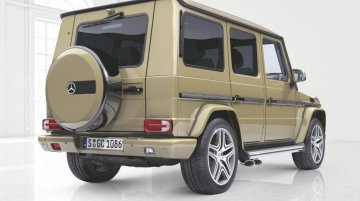 2018 Mercedes G-Class may get independent air suspension - Report