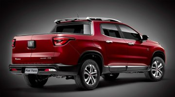 Rear-end of Fiat Toro pick up revealed in official image - IAB Report