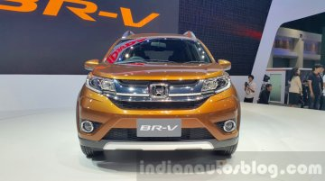 Honda BR-V debuts in Thailand in a new color - IAB Report