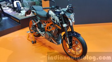 KTM Duke 250 and KTM RC250 showcased at 2015 Thailand Motor Expo - IAB Report