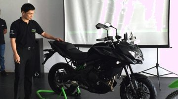 Kawasaki Versys 650 launched at INR 6.60 lakhs - IAB Report