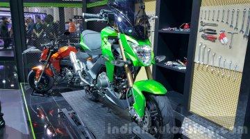 Kawasaki Z125 Pro showcased at 2015 Thailand Motor Expo - IAB Report