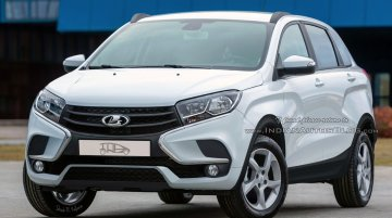 Lada XRay Cross - IAB Rendering