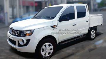 Mahindra Imperio (Mahindra Genio facelift) double-cab - IAB Rendering