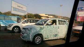 Mahindra KUV100 spotted in Pune - Spied