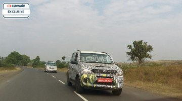Mahindra Quanto facelift with new front fascia snapped in Nashik - Spied