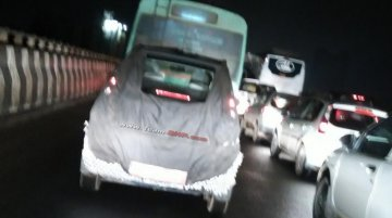 Mahindra e2o 4-door version spotted for the first time - Spied