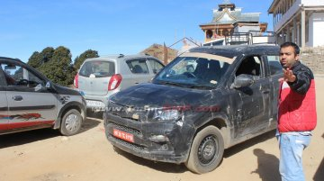 Maruti YBA sub-4m SUV snapped testing at Hatu Peak - Spied