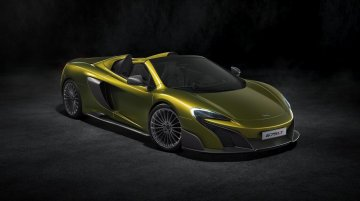 McLaren 675LT Spider launched at £2,85,450 – IAB Report