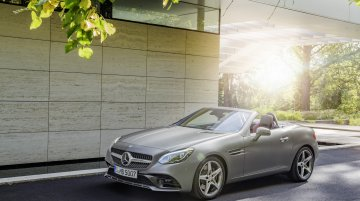 India-bound Mercedes SLC unveiled ahead of 2016 NAIAS debut - IAB Report