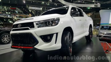 Toyota Hilux Revo TRD concept unveiled at 2015 Thailand Motor Expo - In Images