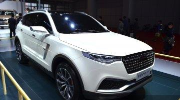 Zotye T600 S concept - Motorshow Focus
