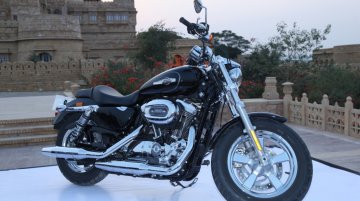 2016 Harley Davidson Sportster 1200 Custom launched in India - IAB Report