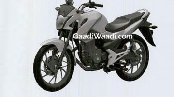 Patent image of a new Honda 160 cc motorcycle leaked - Report [Update]