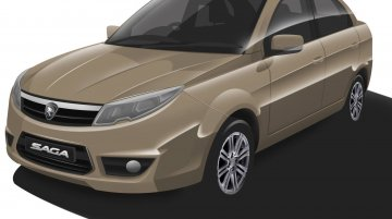 2016 Proton Saga to be repositioned, gain new 1.0L engine - Rendering