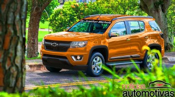 Chevrolet Trailblazer 2016 (Facelift) - Rendering