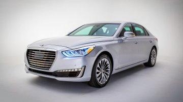 North American-spec Genesis G90 unveiled in Detroit - IAB Report