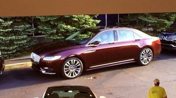 2017 Lincoln Continental exterior, interior unofficially revealed - Report