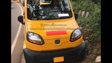 Bajaj Qute spotted in Trivandrum, Kerala - Spied