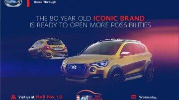 Datsun GO-Cross Concept teased ahead of Auto Expo premiere - IAB Report