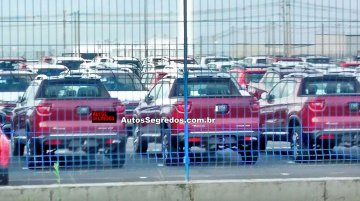 FCA Brazil stocks up the Fiat Toro ahead of its market launch - Spied