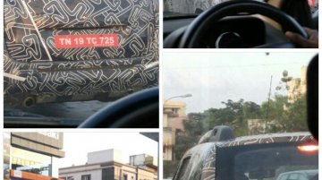 Renault Duster 2016 caught testing again - Spied